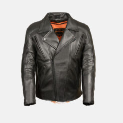 beltless motorcycle jacket