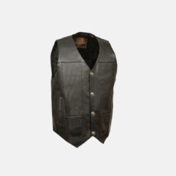 Gents Leather Vest mens motorcycle Vests