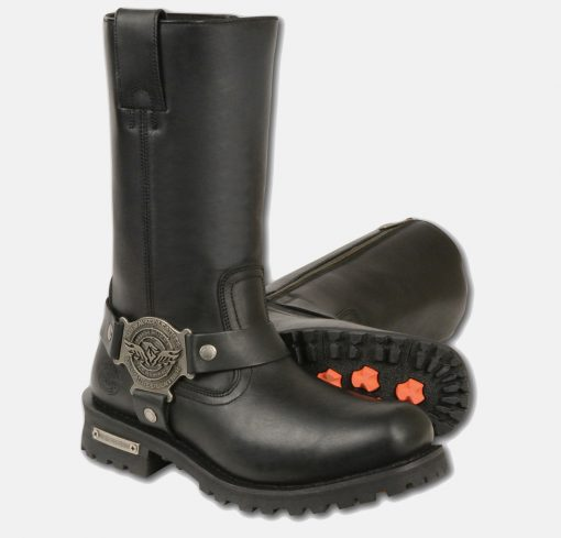 mens knee high motorcycle boots