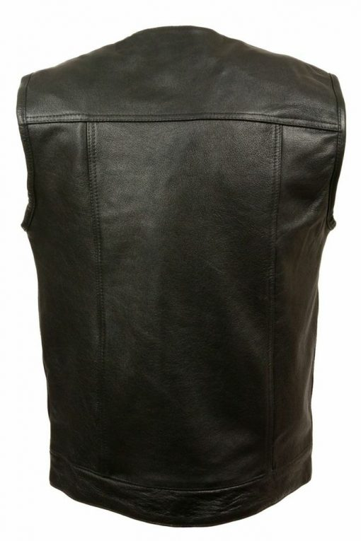 Mens Motorcycle Sons of Anarchy Leather Vest