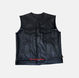 Mens Vest Leather Son of Anarchy
