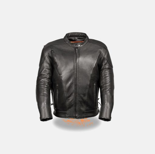 Motorcycle Jackets for Men Black Leather