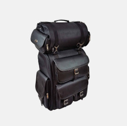 motorcycle luggage bags 3 piece