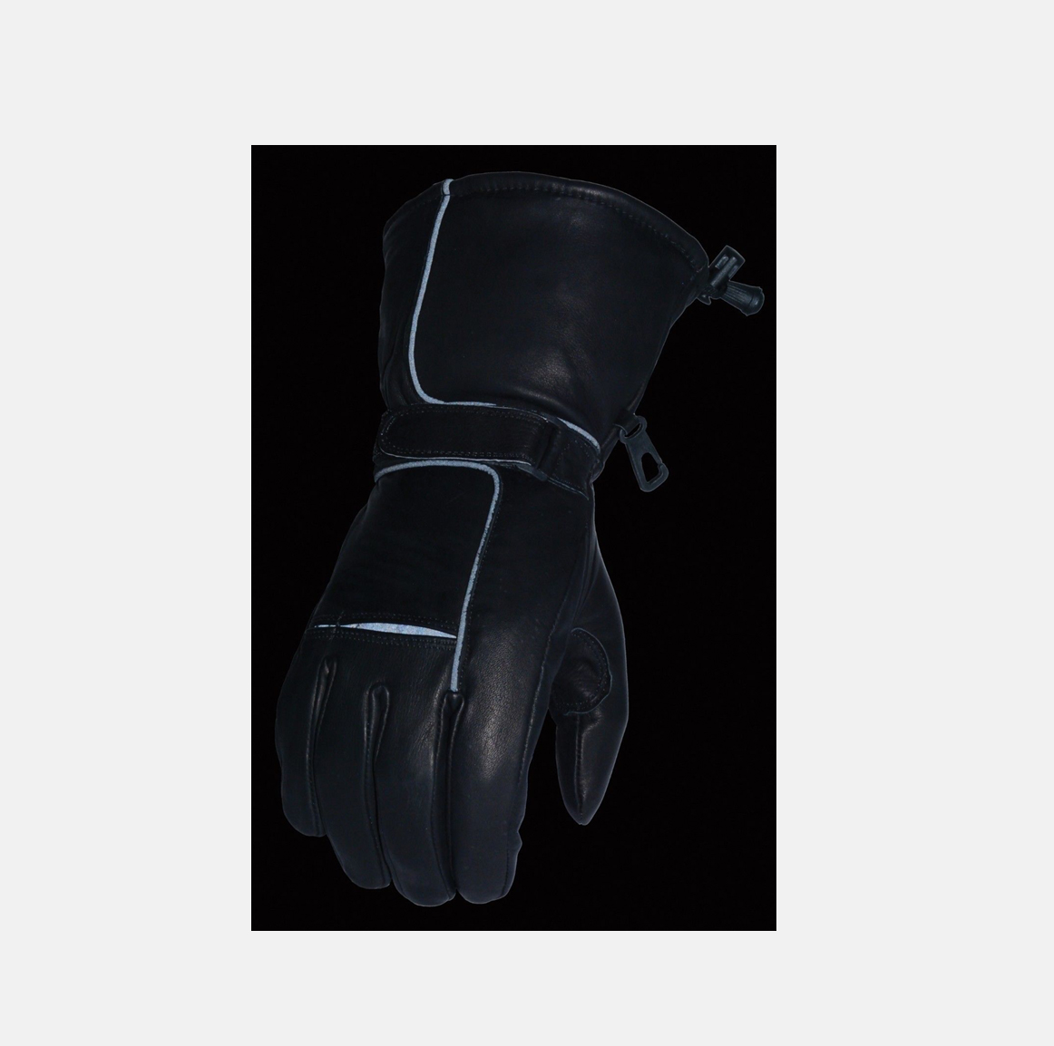 Motorcycle mens Riding Gloves waterproof cow leather soft