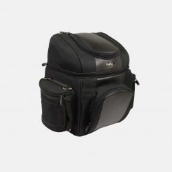 motorcycle travel bags black
