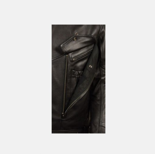 Pure leather Black jacket reviews
