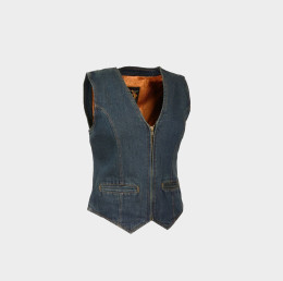 Scooter Denim Vest Women