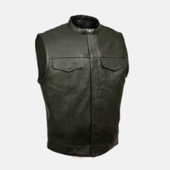 SON OF ANARCHY LEATHER VEST GUN POCKET