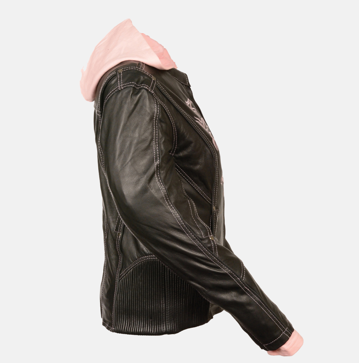 womens black leather jackets sale