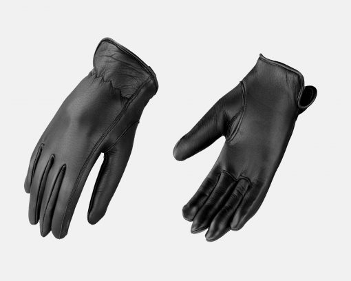 womens black leather thinsulate gloves