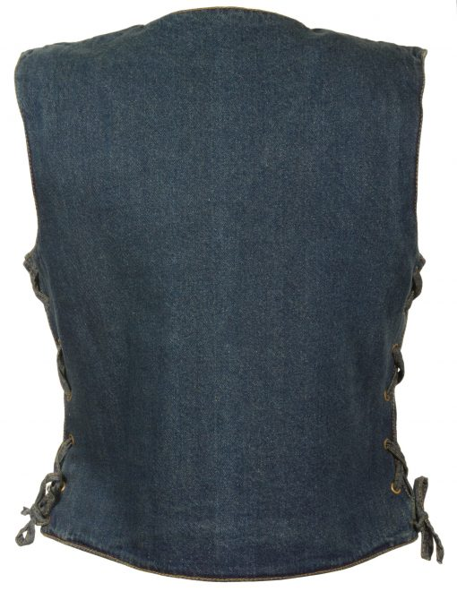 Womens denim Vest cotton