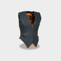 womens denim vest old navy