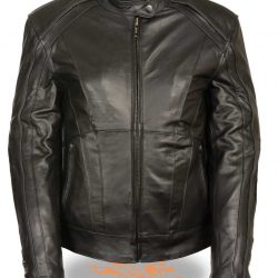 Womens Leather jacket Black