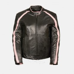 Womens Motorcycle Leather Black