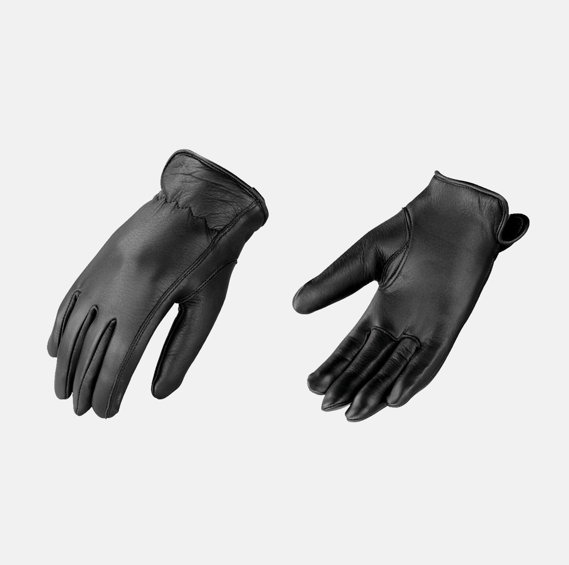 womens winter gloves black leather