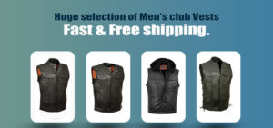 Son of anarchy leather vest