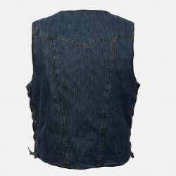Biker Denim Vest Blue jeans