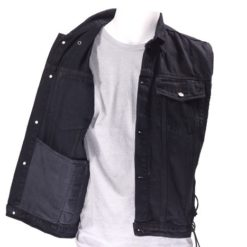 Black Denim Shirt mens