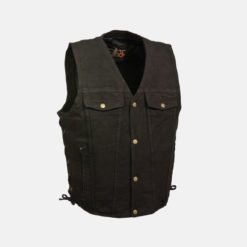 black denim vest jeans jacket
