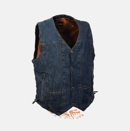 Blue Denim Vest for Sale