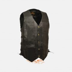 leather vest big and tall
