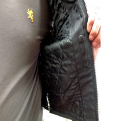 Mens Leather Vest With Reflective Skulls inside reviews