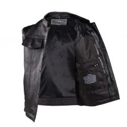 Mens sons of anarchy style vest