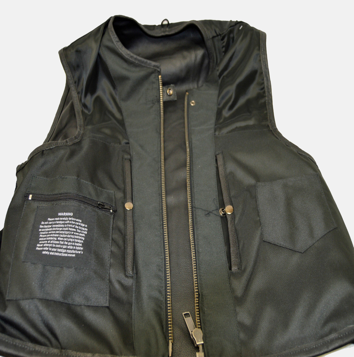 Motorcycle Vest Leather Motorcycle Vest