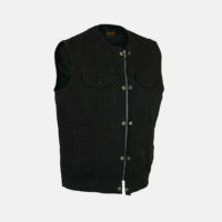Son of Anarchy Black Denim Vest Jacket
