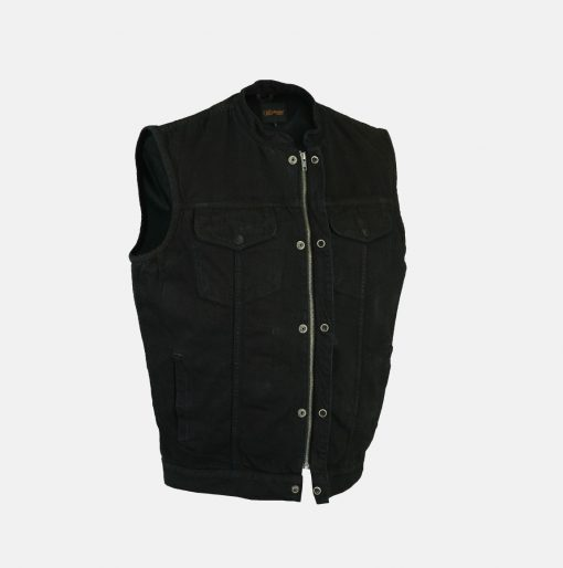 sons of anarchy black vest
