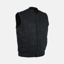sons of anarchy black vest Cheap