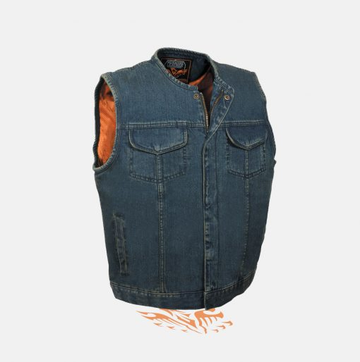 sons of anarchy blue vest