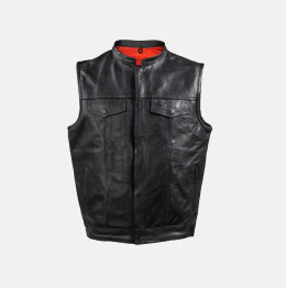 sons of anarchy leather motorcycle vests