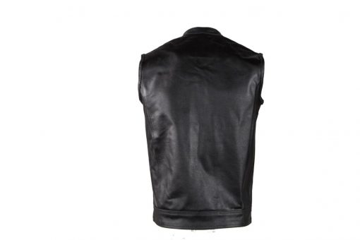 sons of anarchy style leather vest