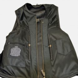 Swat leather vest for men