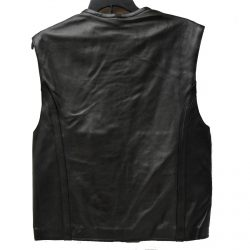 swat style leather club vest