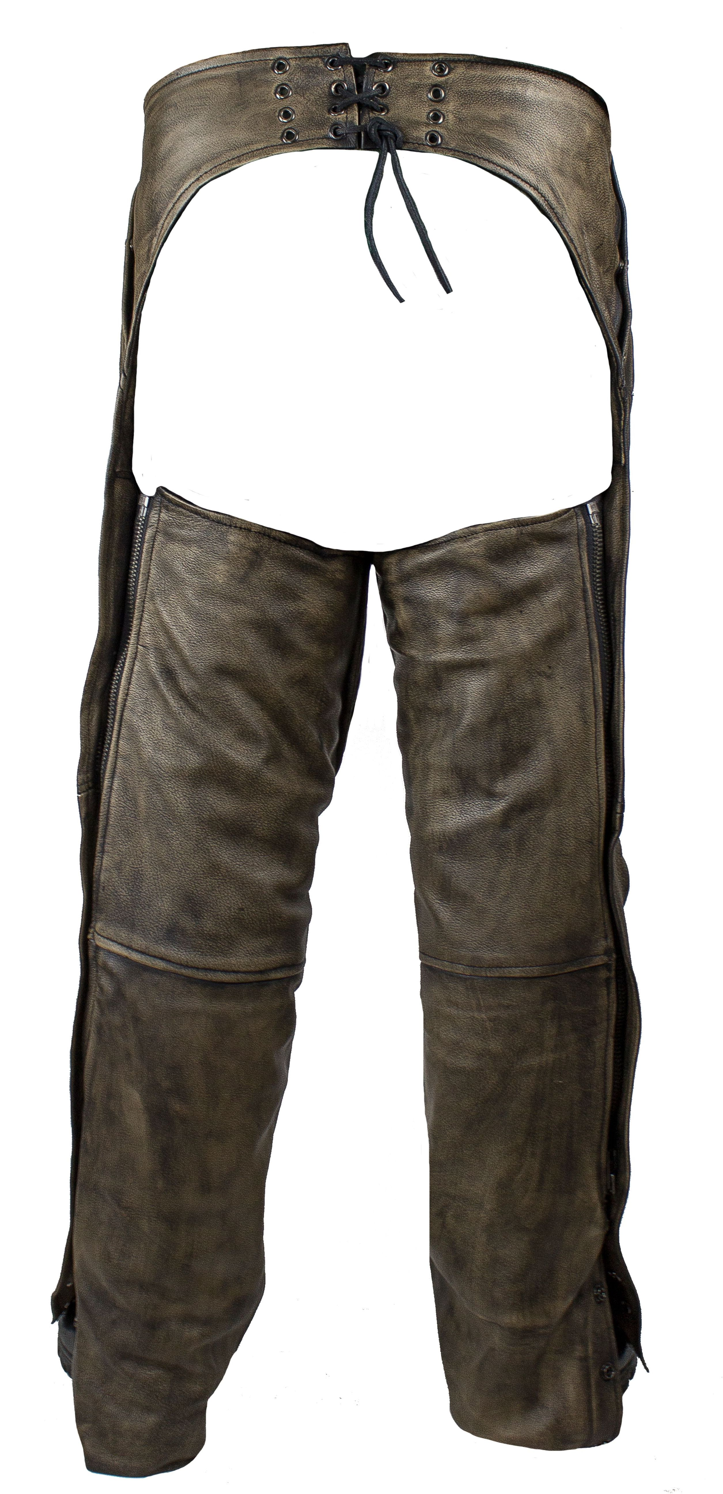Best Motorcycle Leather Pant Brown Distressed Chaps