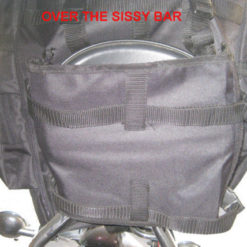 Biker Sissy bar luggage
