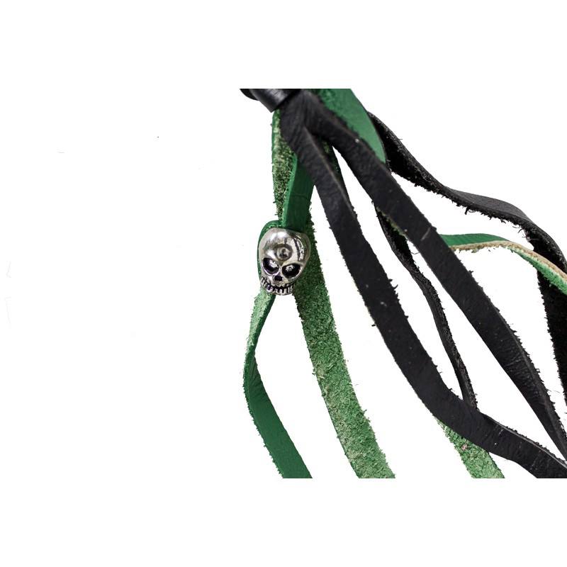 Biker Whip Green Black