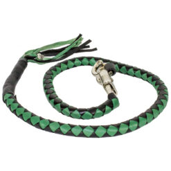 Black Green Get Back Whip