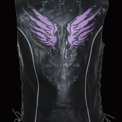 Cool leather vest jackets for ladies