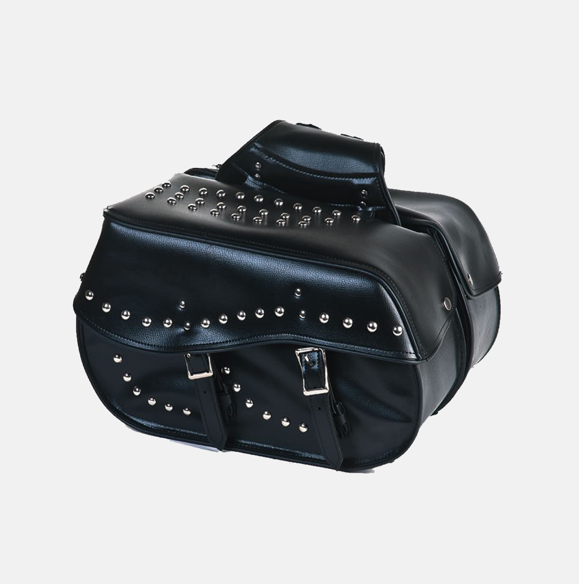 Water proof two piece pvc saddlebag bikers gear online usa for Motor cycle saddle bags