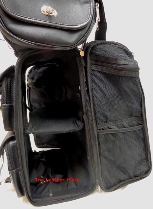 large studded sissy bar bag