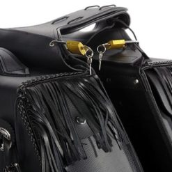 leather saddlebags motorcycle