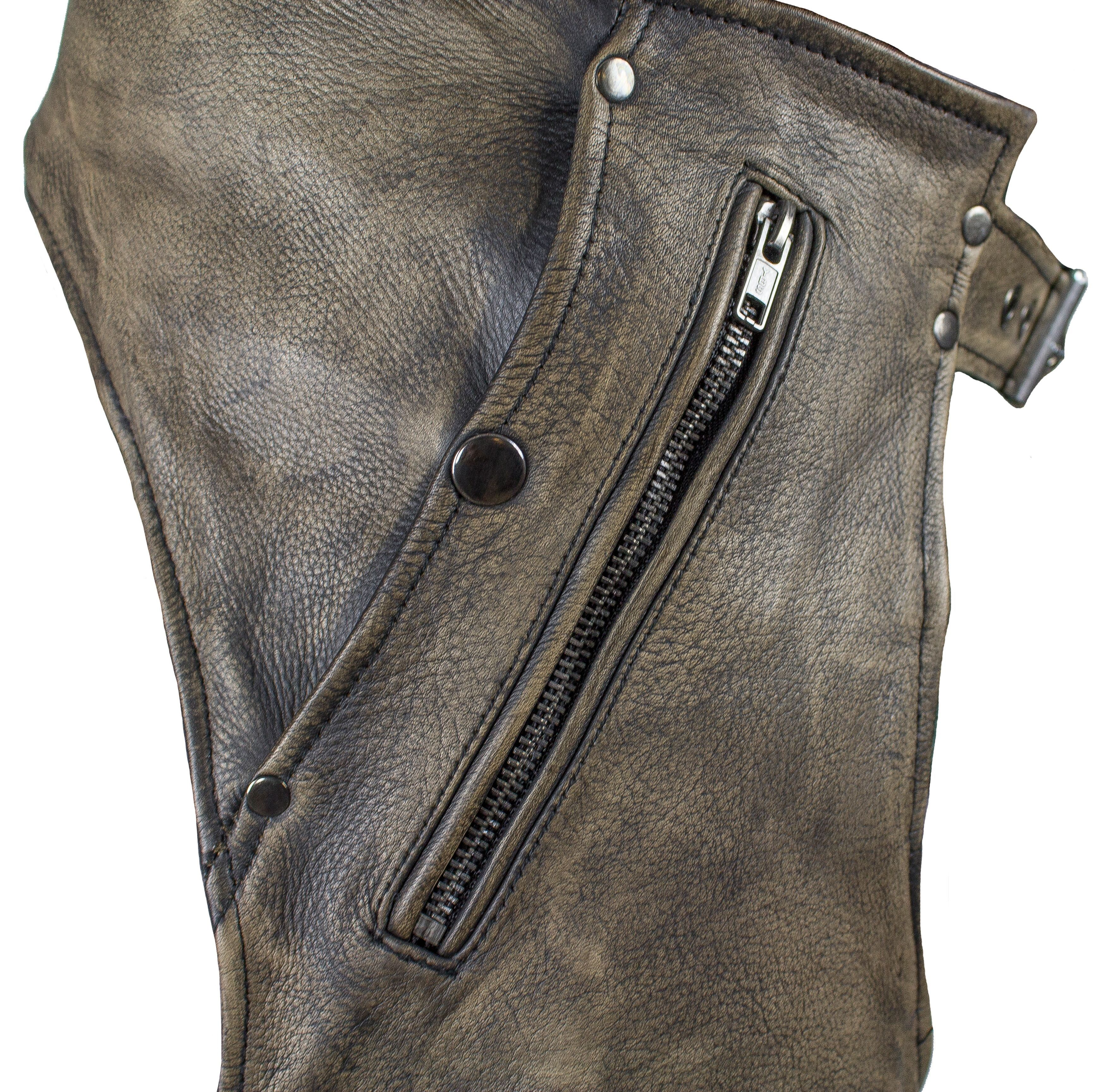 Motorbike Riding Chaps for Sale Leather