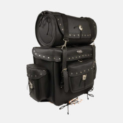 Motorcycle leather bags Large T shaped