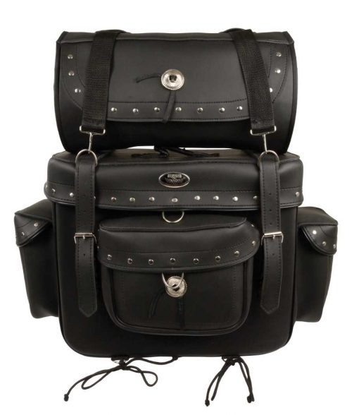 Motorcycle Leather bags T for sale