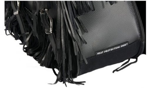 motorcycle saddlebags fringes