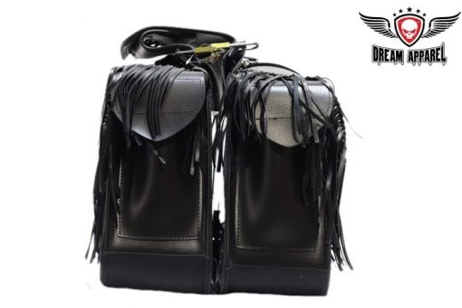 motorcycle saddlebags leather