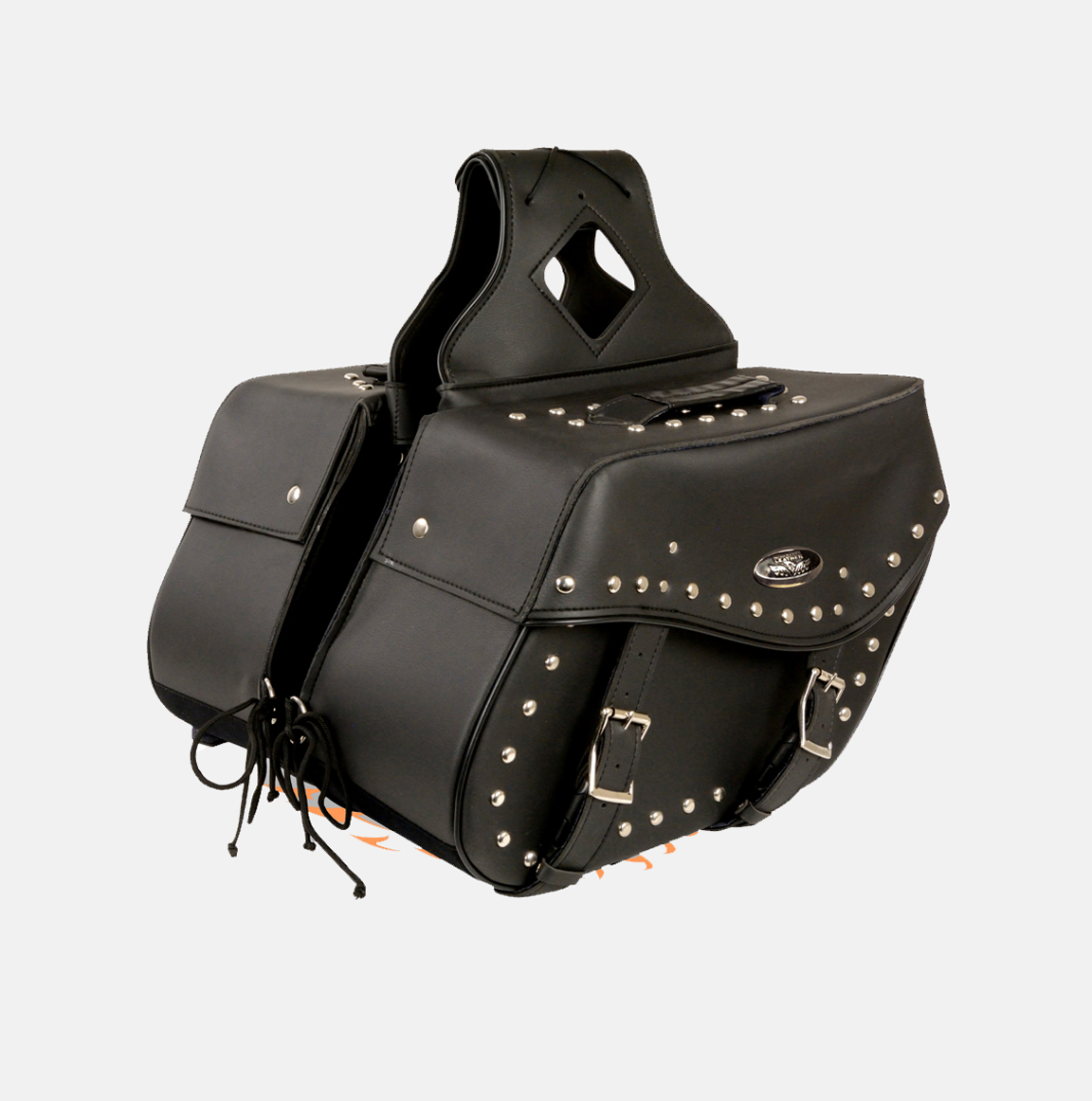 motorcycle two piece saddlebag bikers gear online usa